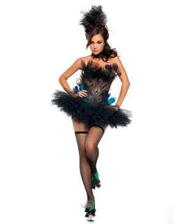 Womens Sexy Peacock Costume 816528011592