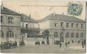 75014 Paris Ecole de Filles Place Mairie Montrouge