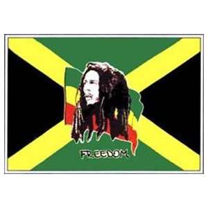 NEOPlex 3 x 5 Bob Marley Freedom Music Group Flag Office Products