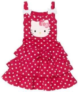 Hello Kitty Girls 2 6x Hello Kitty Printed Dress Clothing