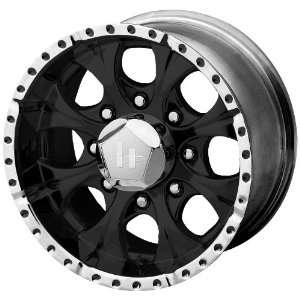 Helo HE791 Gloss Black Machined Wheel   (16x8/8x6.5