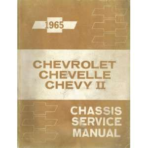 1965 Chevrolet, Chevelle, Chevy II Chassis Service Manual
