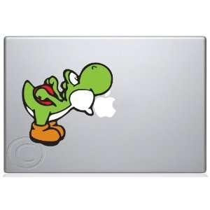 Yoshi Eat Apple Macbook Decal skin sticker Everything