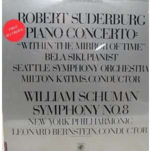 Phil. Suderberg Piano Concerto. Siki; Katims, Seattle So LP Music