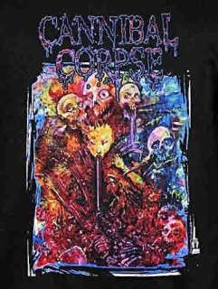 Cannibal Corpse Guts and Gore metal rock T Shirt M XL 2XL NWT