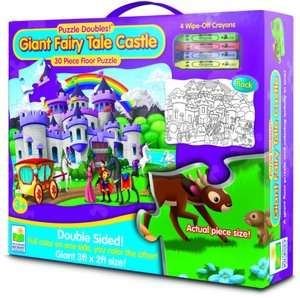 BARNES & NOBLE  Puzzle Doubles Giant Pirate Adventure Floor Puzzle by