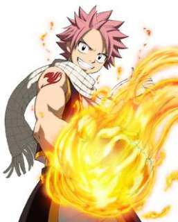 Tattoo Seal FAIRY TAIL Natsu Cosplay Costume A
