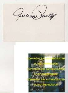 SIGNED AUTOGRAPHED INDEX CARD WPROOF SISTERS BRUCE SPRINGSTEEN