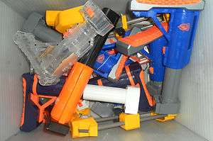 NERF dart guns stocks spectre folding raider recon alpha trooper gear