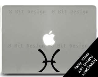 Pisces Zodiac Decal Vinyl Window Sticker Car Laptop Astrology Funny
