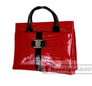 New Fashion Luxury OL Style Crocodile Pattern High Quality Handbag