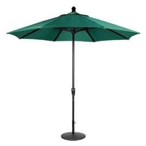 Secret Garden 9 Ft Auto Tilt Rectangular Ribs Umbrella, Bronze Frame