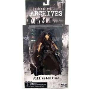 NECA Resident Evil Archives Jill Valentine (black) Toys