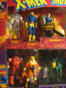 Dc MARVEL COMICS Ltd Ed MUTANT HALL OF FAME 10pc FIGURE SET  1993
