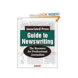 Associated Press Guide to Newswriting (Study Aids/On the