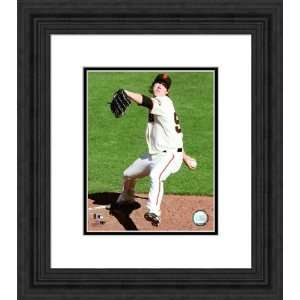 Framed Tim Lincecum San Francisco Giants Photograph