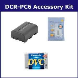 Sony DCR PC6 Camcorder Accessory Kit includes DVTAPE Tape