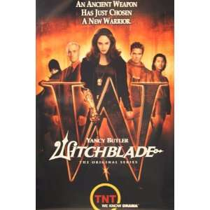 WITCHBLADE Yancy Butler POSTER (1289): Everything Else