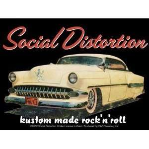 Social Distortion kustom rock n roll STICKER