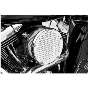 Arlen Ness Derby Sucker Air Filter Kit without Cover   Chrome Backing