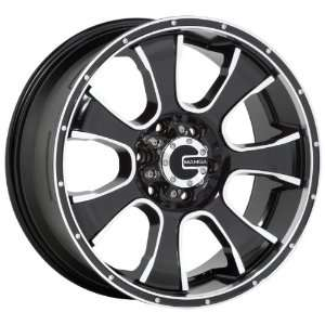 20x9 Mamba Type M7 (Black / Machined) Wheels/Rims 6x135 (MAMM7 2963B