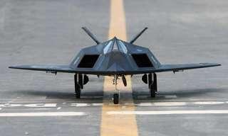 117 Blacknight Stealth Lockhead 70mm EDF RC Jet Nighthawk 2.4GHZ