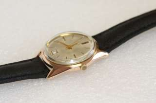 SOLID ROSE GOLD 14K VINTAGE POLJOT WATCH Made in USSR