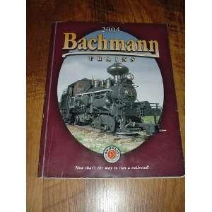 Bachmann Trains 2004 Books
