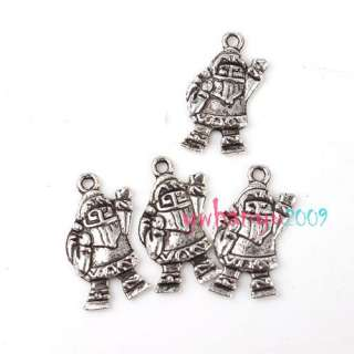 Wholesale Silver Tone Christmas Xmas Charms Pendants 17 41mm Choose