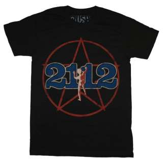 Rush 2112 Starman North American Tour 1976 Band Soft T Shirt Tee