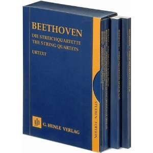 Beethoven The String Quartets   7 Volumes in a Slipcase