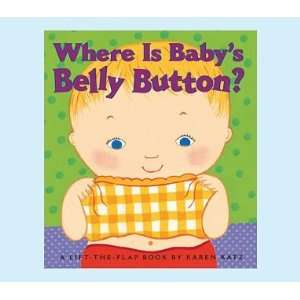 Pottery Barn Kids Where Is Babys Belly Button? Books