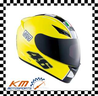 ROSSI CELEBR8 HELMET YELLOW STREET FULL FACE MOTORCYCLE