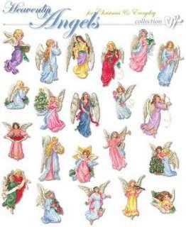 Vermillion Stitchery 71800 Heavenly Angels Cross Stitch Machine
