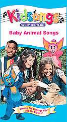 Kidsongs   Baby Animal Songs VHS, 2002