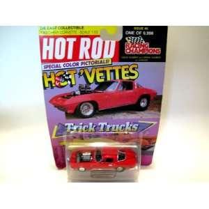 Racing Champions Hot Rod Hot Vettes Trick Trucks 1963