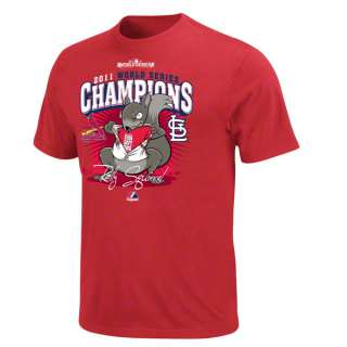 St. Louis Cardinals Red Majestic 2011 World Series Champs Super Rally