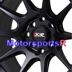XXR 527 Flat Black Neon Yellowl Concave Rims Wheels 4x100 06 Scion xB
