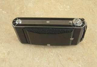 Vintage Kodak Six 16 Art Deco Folding Camera w Leather Case 1930s