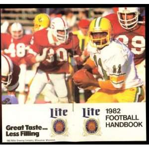 NCAA & NFL Football Handbook (Schedule): Miller Brewing Company: Books