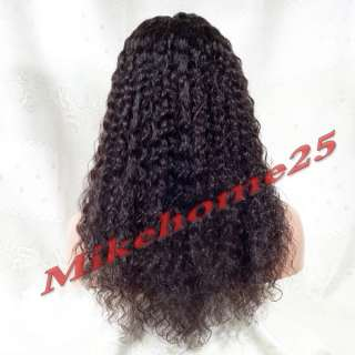 Deep Wave Lace Front Wigs 20 Long Synthetic Hair Hi Temp with
