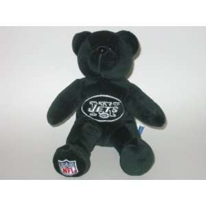 NEW YORK JETS Team Logo Plush 8 TEDDY BEAR / BEANIE BABY