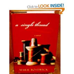 A Single Thread (9781607513056) Marie Bostwick Books