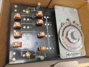 PARAGON Defrost Timer Bracket Mounted 8408 20B 208 240V