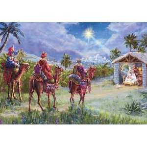NRA Wise Men Religious Christmas Card Health & Personal