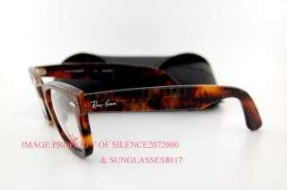 39b5058b8b ... RAY BAN Eyeglasses Frames 5121 WAYFARER 2291 HAVANA Size 47 Authentic  ...