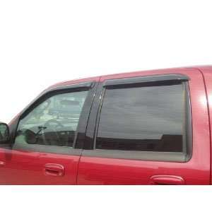 Sierra Crew Cab vent window shades visor rain guards 99 06 Automotive