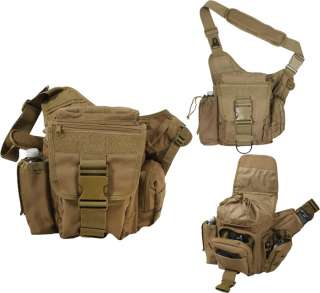 Brown Military Advanced Tactical Shoulder/Hip Bag (Item #: 2638