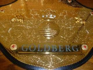 Bill Goldberg Signed WCW Championship Belt PSA/DNA WWE