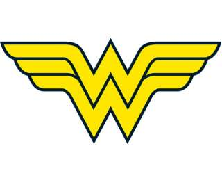Wonder Woman Logo Iron On Transfer #1